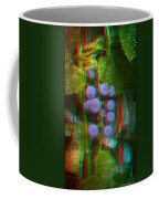 Grapes On The Vine - Use Red-cyan Filtered 3d Glasses Coffee Mug