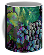 Grapes Painterly Coffee Mug