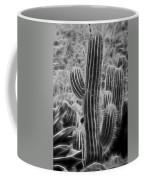 Graphic Cactus Coffee Mug