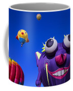 Graphic Hot Air Balloons Coffee Mug