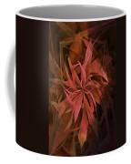 Grass Abstract - Fire Coffee Mug
