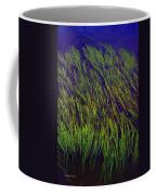 Grass In The Lake Coffee Mug