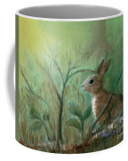 Grass Rabbit Coffee Mug