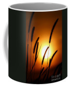 Grasses At Sunset - 1 Coffee Mug
