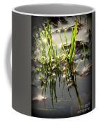 Grasses In Water Coffee Mug