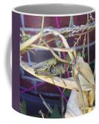 Grasshopper Piggyback Coffee Mug