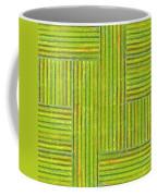 Grassy Green Stripes Coffee Mug