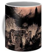 Graveyard At Night Coffee Mug