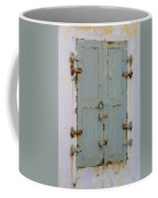 Gray And Rusted Coffee Mug