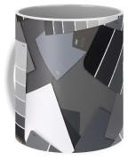 Gray Card Checker O Meter Coffee Mug