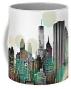 Gray City Beams Coffee Mug