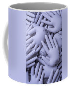 Gray Hands Coffee Mug