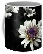 Gray Petals Coffee Mug
