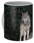 Gray Wolf Endangered Species Wildlife Rescue Coffee Mug