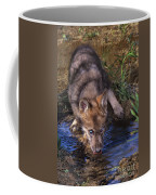 Gray Wolf Pup Endangered Species Wildlife Rescue Coffee Mug