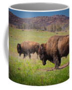Grazing Bison Coffee Mug