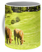 Grazing Cows Coffee Mug