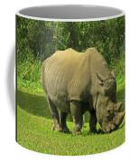 Grazing Rhino Coffee Mug