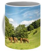 Grazing Summer Cows Coffee Mug