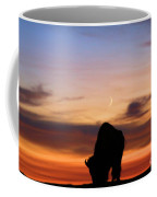 Grazing Under The Moon Coffee Mug