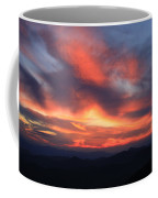 Great Balsam Mountains Sunset-blue Ridge Parkway Coffee Mug