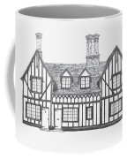 Great Bardfield St Johns Terrace Coffee Mug by Shirley Miller