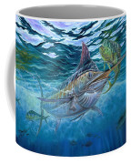 Great Blue And Mahi Mahi Underwater Coffee Mug
