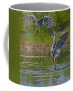Great Blue Battle Coffee Mug