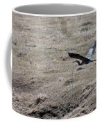 Great Blue Heron Flight Coffee Mug