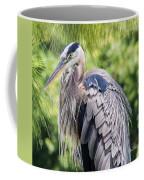 Great Blue Heron Iv Coffee Mug