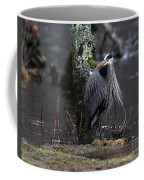 Great Blue Heron On The Clinch River Coffee Mug