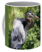 Great Blue Heron Vi Coffee Mug