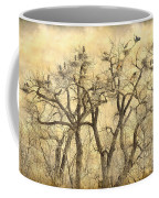 Great Blue Herons Colonies Fine Art Coffee Mug
