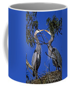 Great Blue Herons Coffee Mug