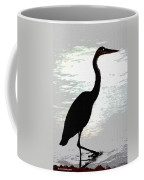 Great Blue Herons Nightside Coffee Mug