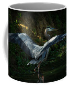 Great Blue Herron Coffee Mug