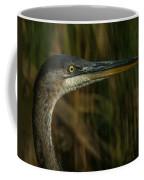 Great Blue Profile Coffee Mug