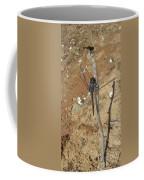 Slaty Skimmer Dragonfly Shadow Coffee Mug