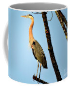 Great Blue Sunset Coffee Mug
