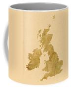 Great Britain Map Coffee Mug