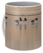 Great Cormorant In Flight Coffee Mug