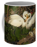 Great Egret 2am-7177 Coffee Mug
