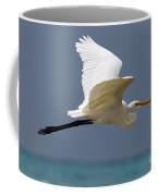 Great Egret Galapagos Coffee Mug