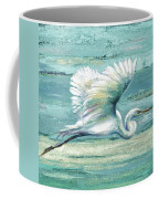 Great Egret I Coffee Mug