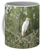 Great Egret Lookout Coffee Mug