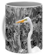 Great Egret Poster Coffee Mug