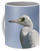 Great Egret Profile Coffee Mug