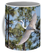 Great Egret Spirit Coffee Mug