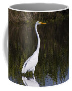 Great Egret Standing Out Coffee Mug