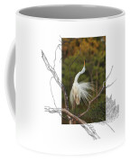 Great Egret - Stretch Coffee Mug